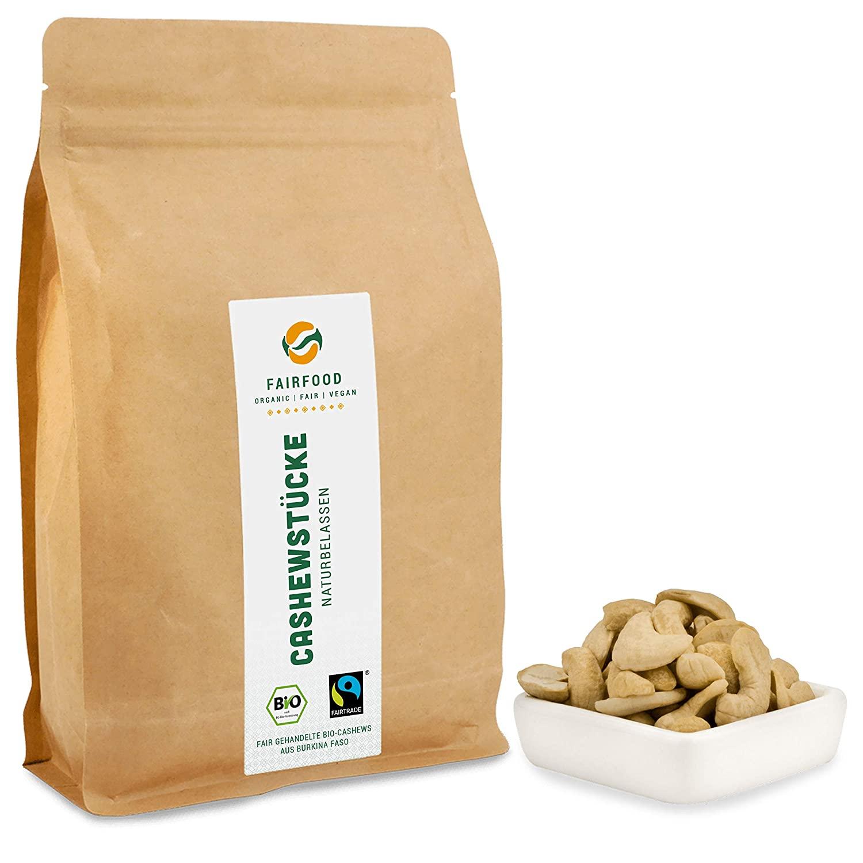 Fairtrade Cashewkerne Großpackung für Cashewmus